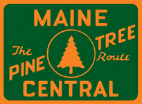 Maine Central RR Pine Tree Route herald